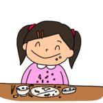 もう3歳なのに食べ方が汚い…。いつになったら上手に食べられる?