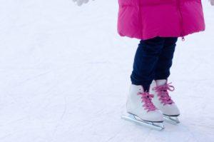 冬はスケート