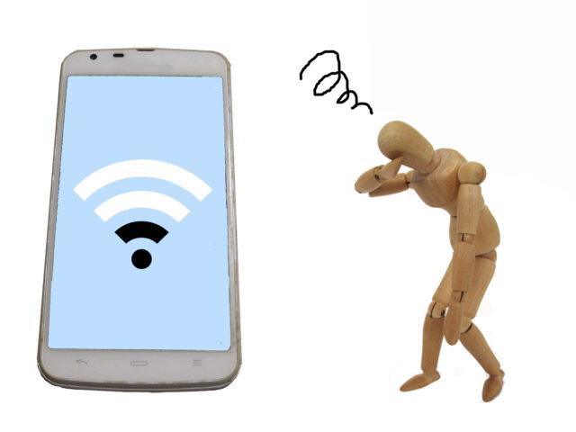 電子レンジを使うとWi-Fiが切れる?!